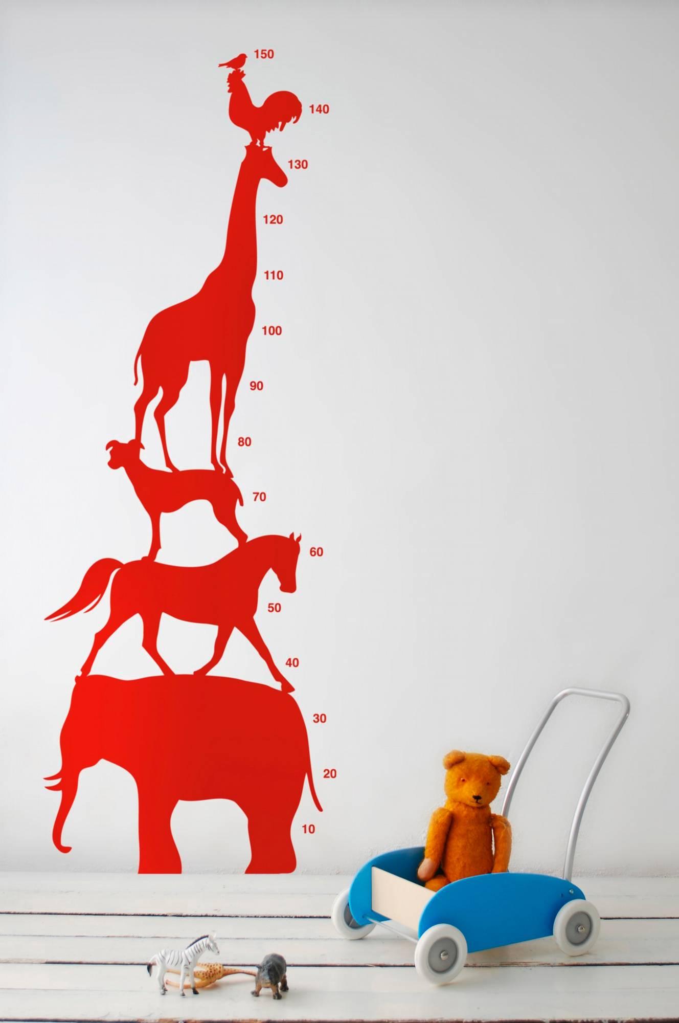 Stickers Animal Tower