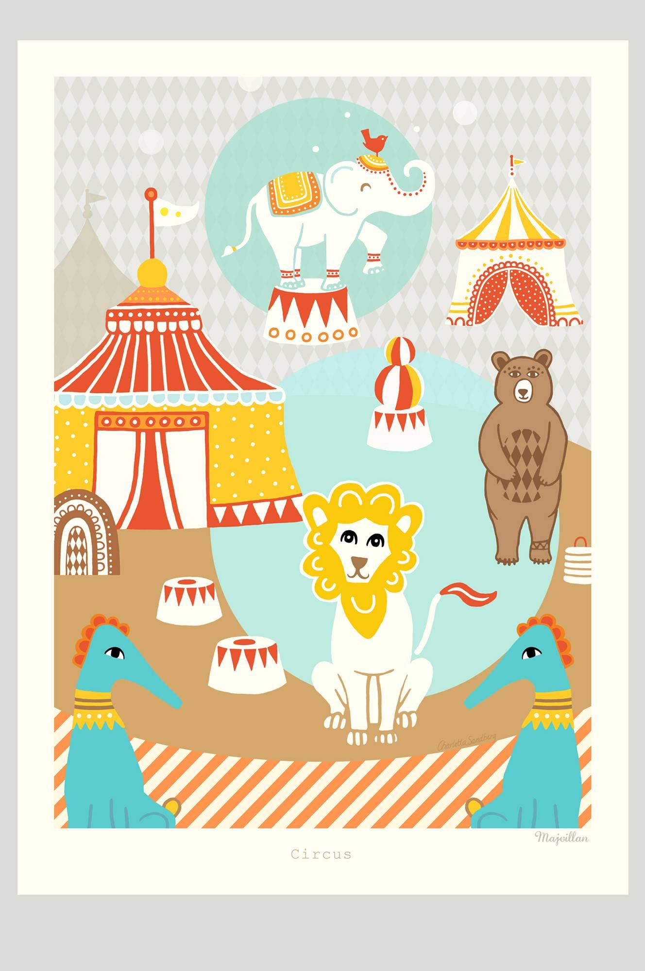Circus-juliste