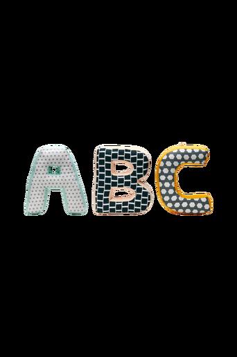 Abc tyynyt, Neonvihreä Multi