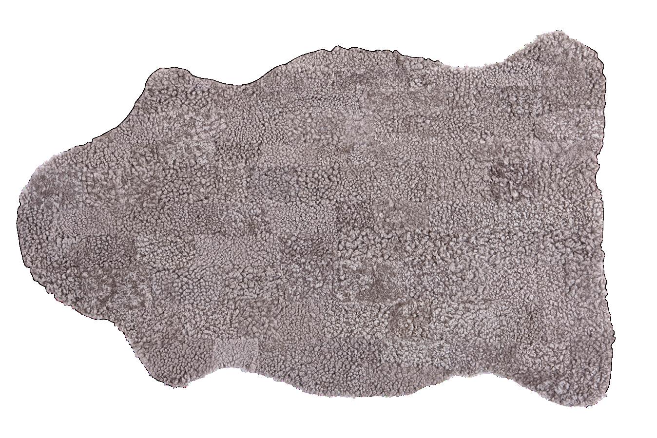 Shepherd - Gry fårskinn 120x80 cm - Natur