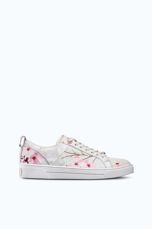 Sneakers Orulo Ted Baker Sneakers til Kvinder i Hvidblomstret