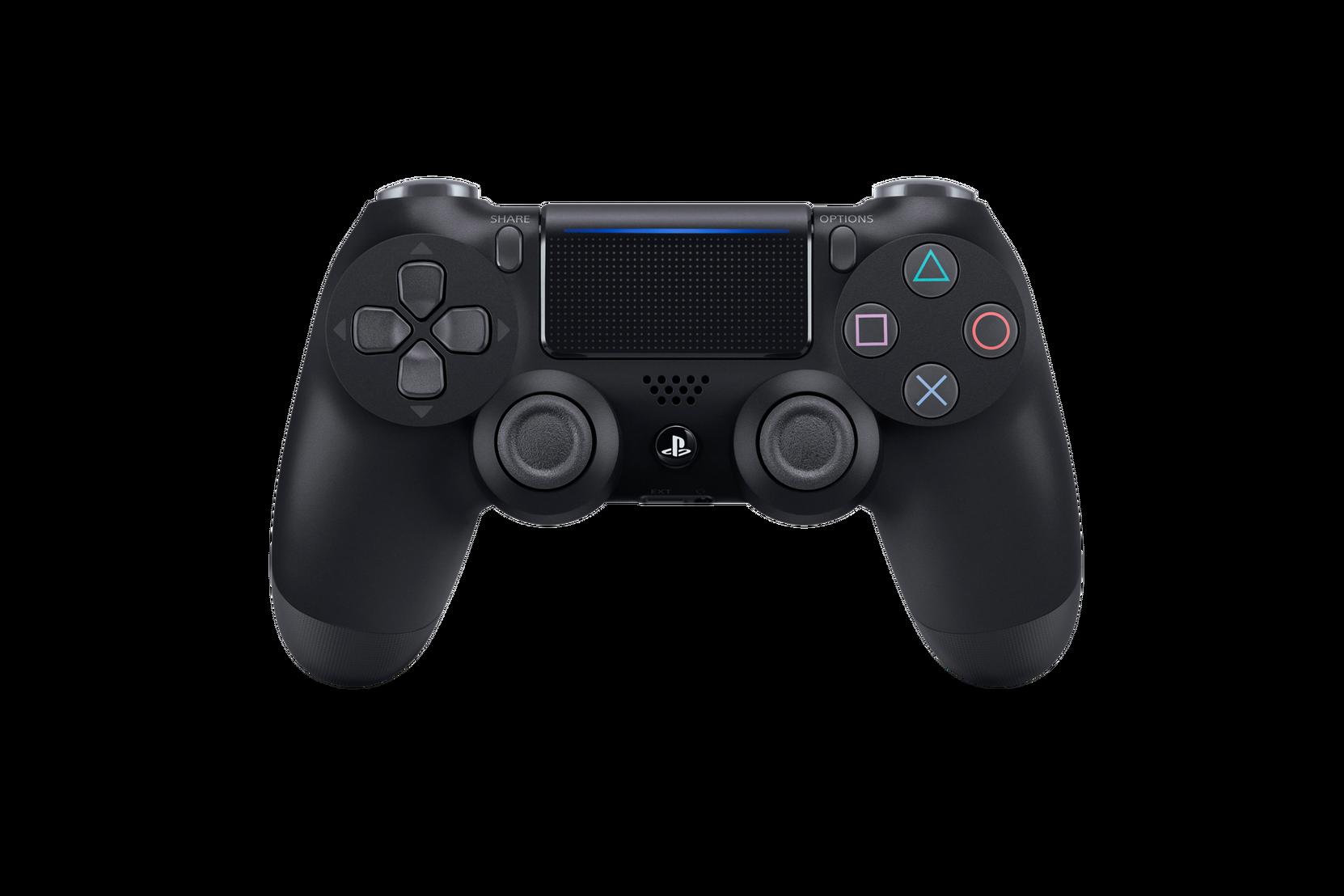 PS4 Dual Shock -käsiohjain, musta V2