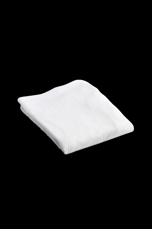 Jersey-joustolakana 40 x 90 cm, valkoinen