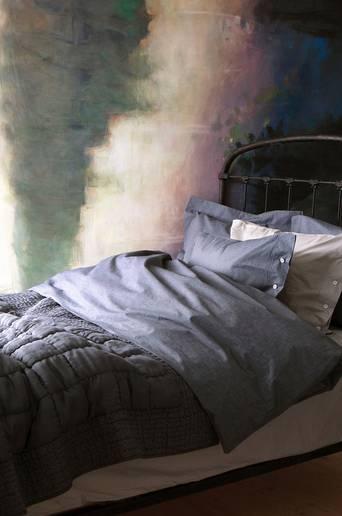 Delia-päiväpeite silkkiä/puuvillaa 160x240 cm