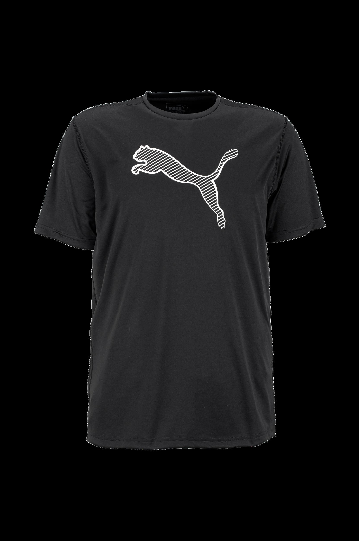 Trænings-T-shirt Essential Cat Tee Puma T-shirts & tanktoppe til Mænd i Sort