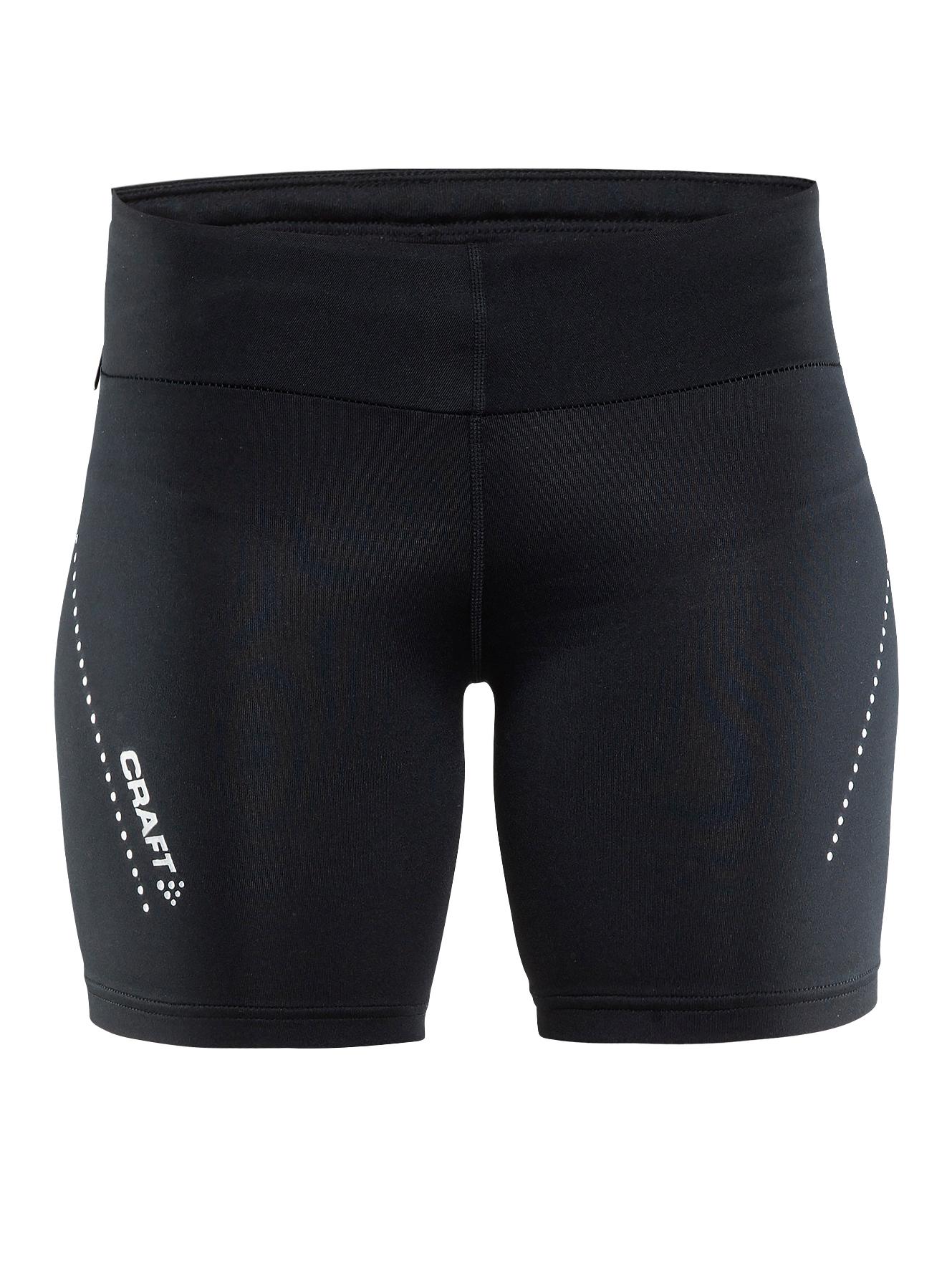 Løbetights Essential short tights Craft Træningsbukser, -shorts & -nederdele til Kvinder i Sort