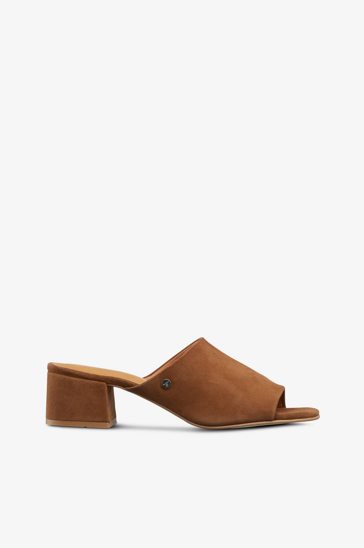 Sandal Simona Gant Sandaler & sandaler med hæl til Kvinder i Cognacbrun