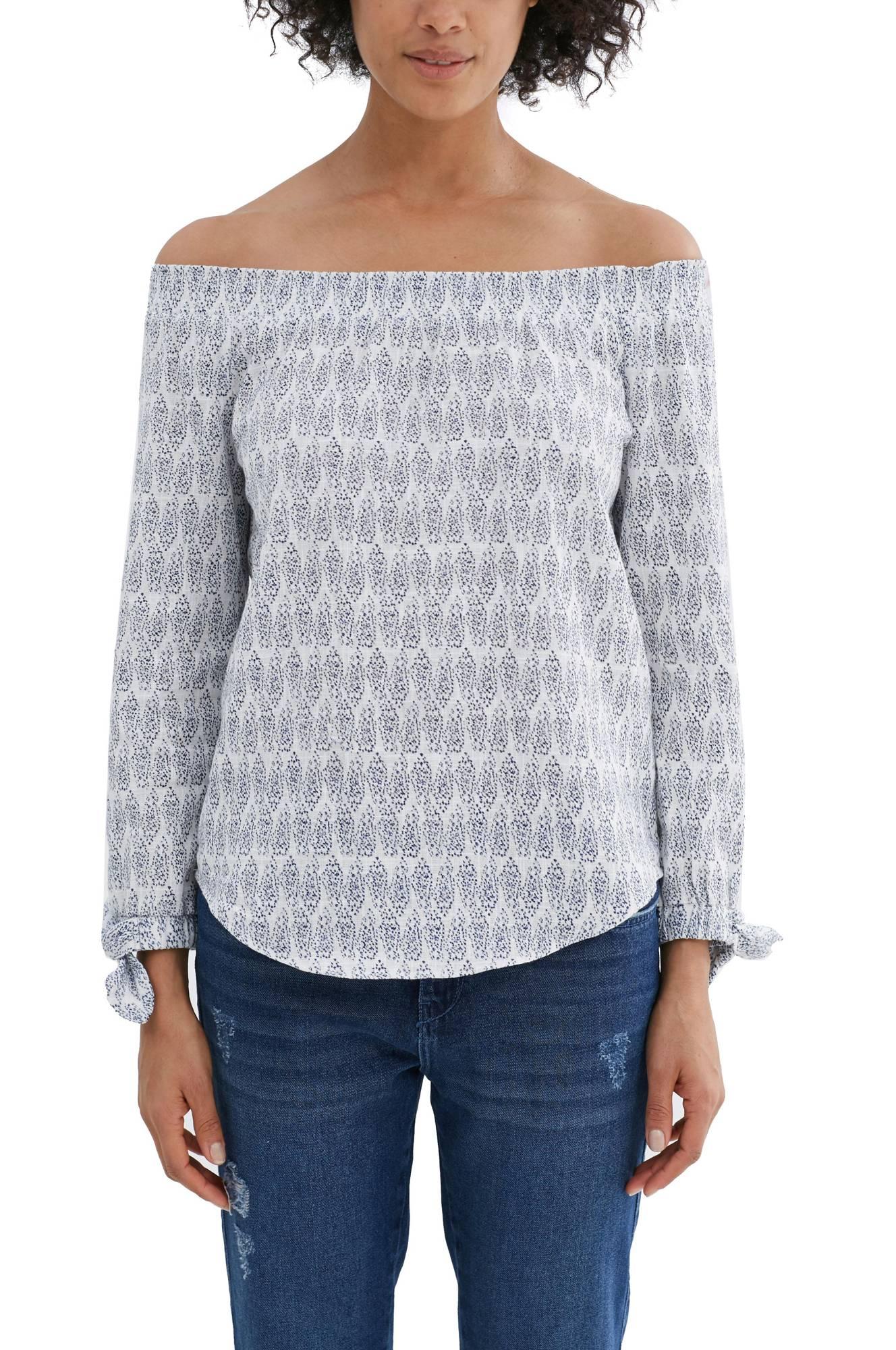 Bluse Off Shoulder Esprit Skjorter & bluser til Kvinder i Offwhite