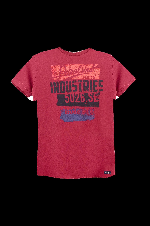T-paita, jossa vintagehenkinen painatus