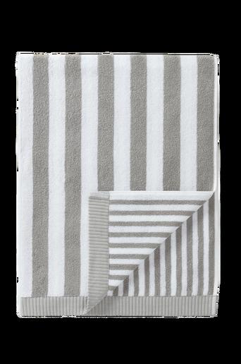 Kaksi raitaa -kylpypyyhe 75x150 cm