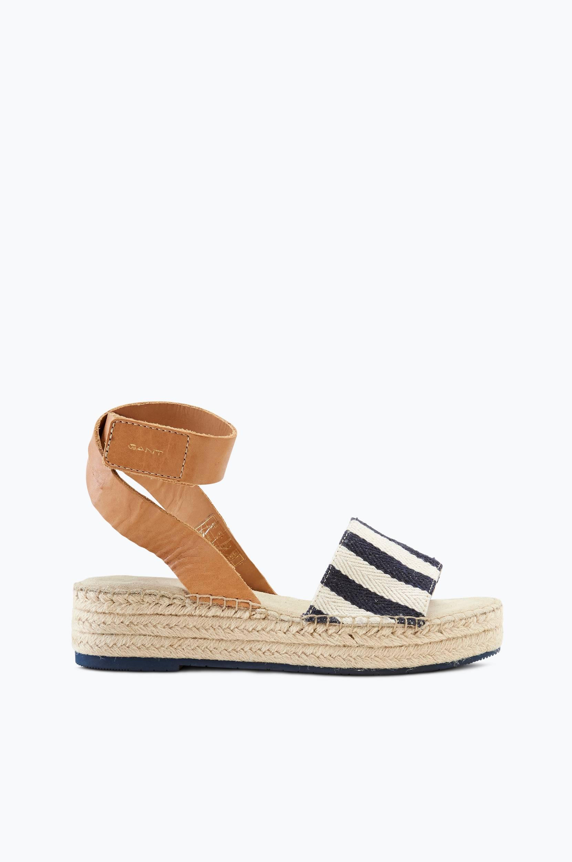 Sandaler Clara Gant Sandaler & sandaler med hæl til Kvinder i Marineblå/elfenben