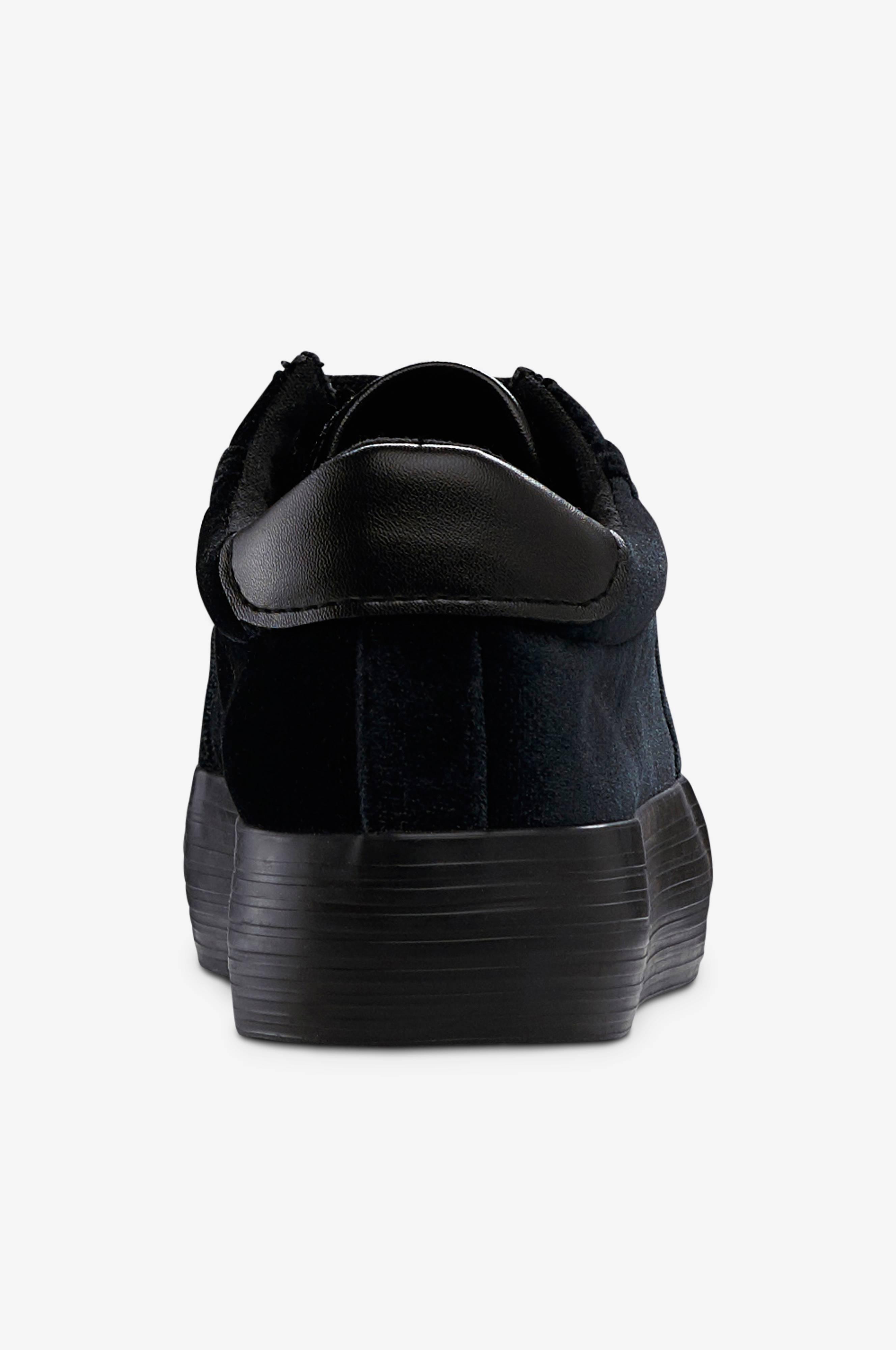 Ellos Shoes Sneakers Barbro Velvet Svart Dam Ellos.se