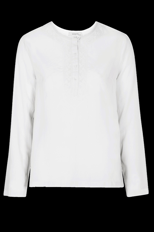 a975430478c4 Bluse med broderi Noa Noa Skjorter   bluser til Kvinder i Hvid