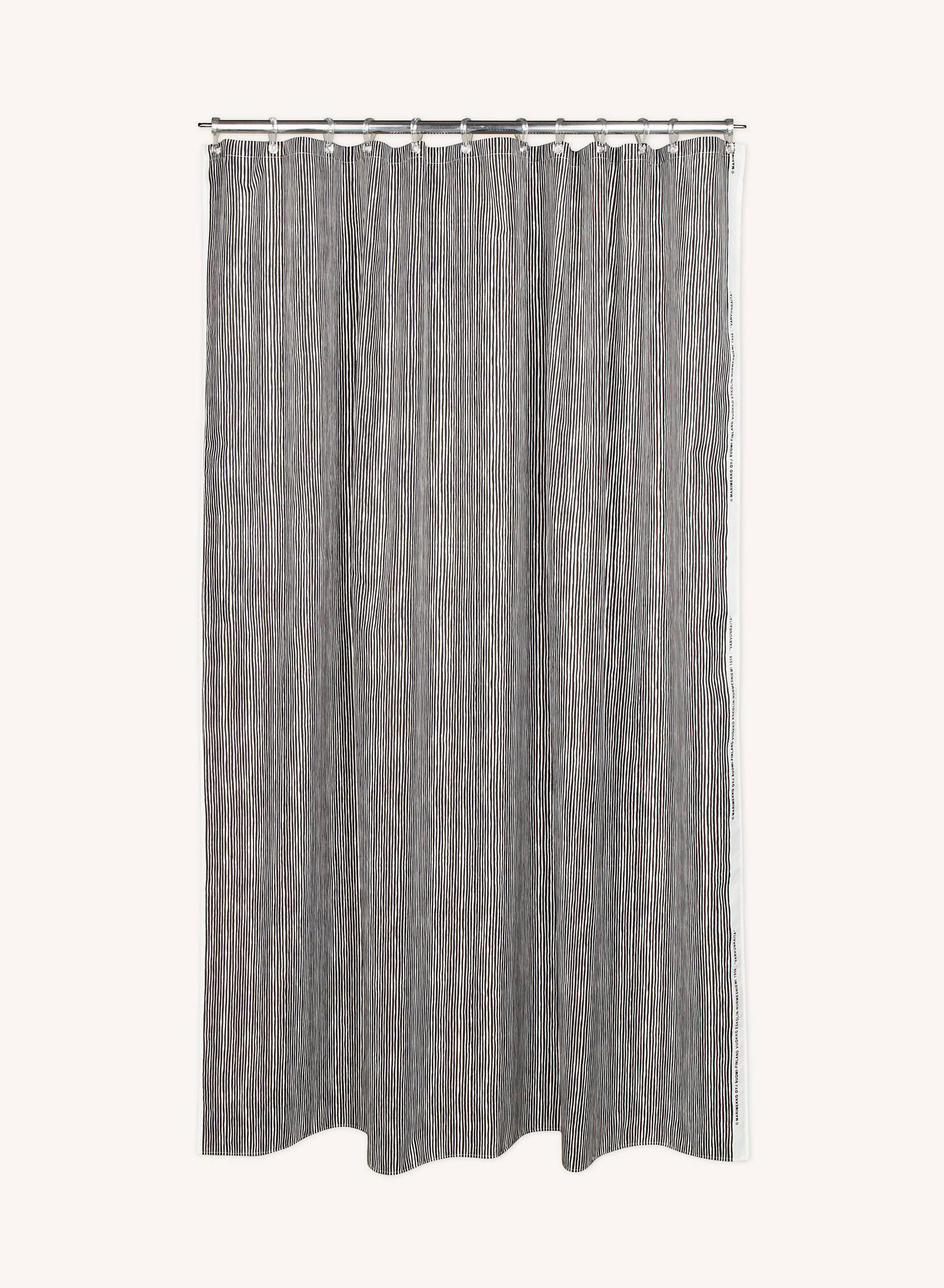 Varvunraita-suihkuverho