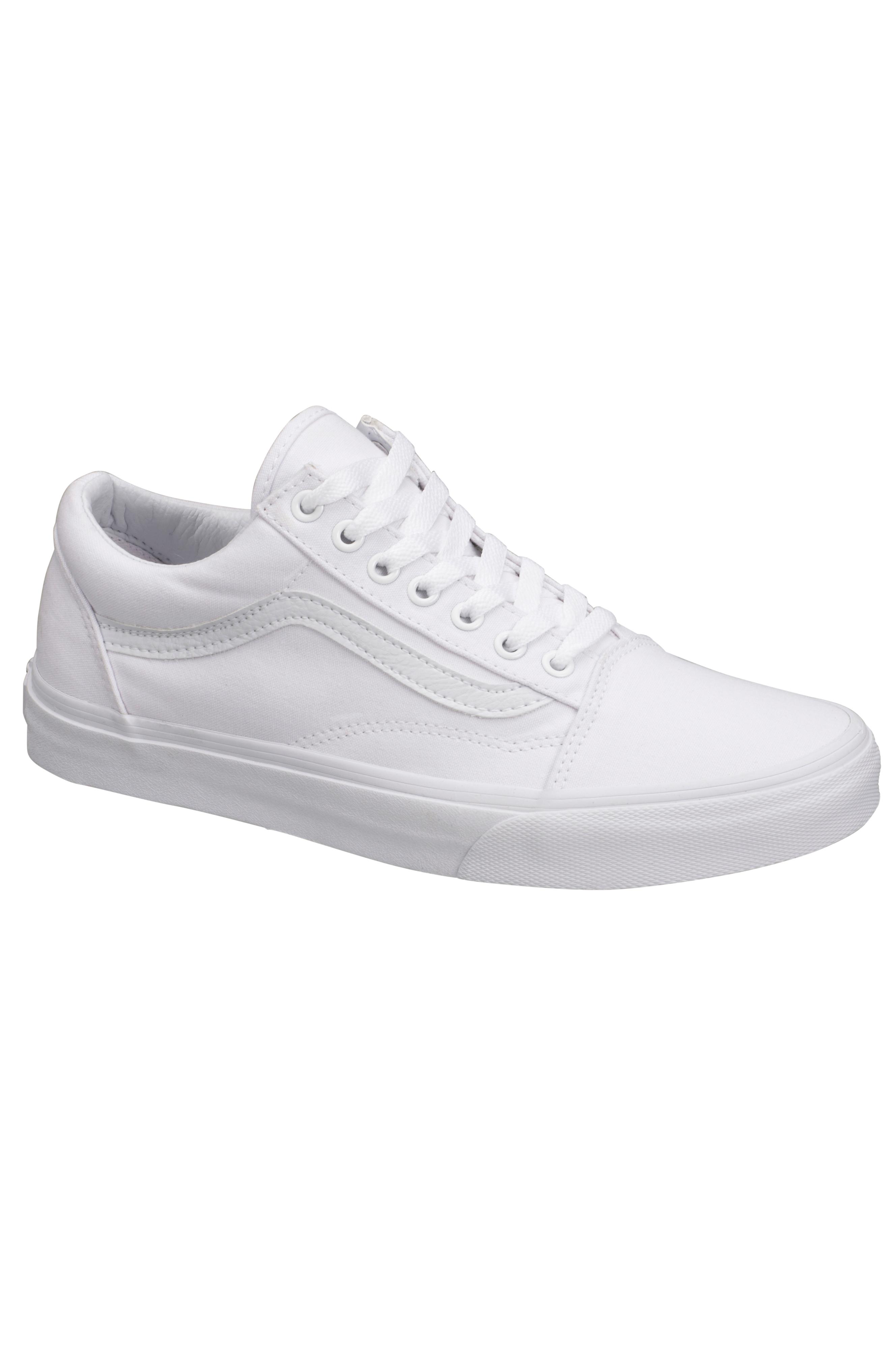Vans Old Skool Sneakers Vit Dam Ellos.se