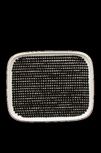 Oiva/Räsymatto lautanen 15x12 cm