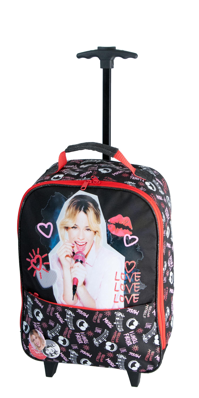 Violetta-matkalaukku