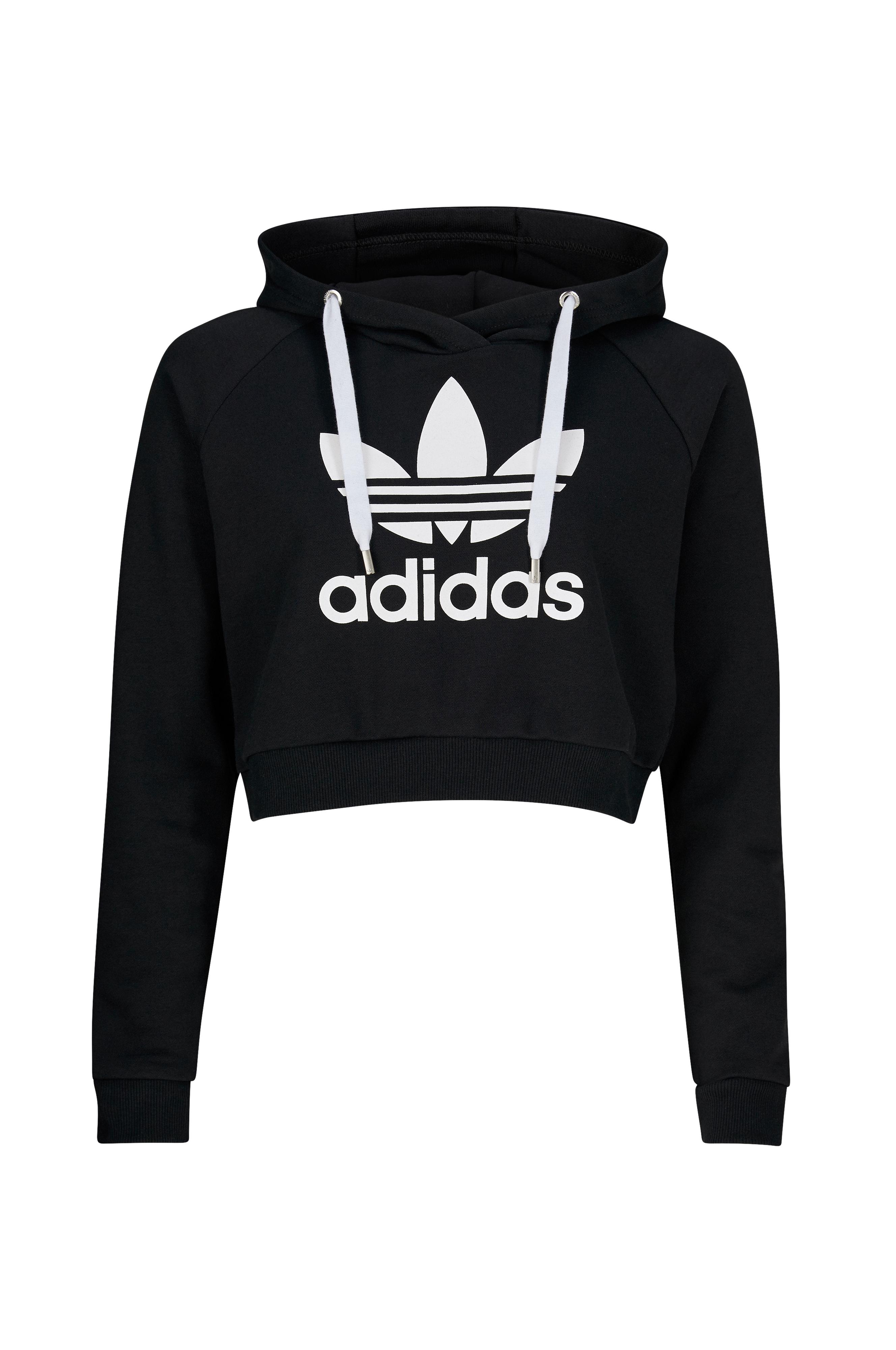 adidas Originals Hettegenser Trf logo hoodie Svart