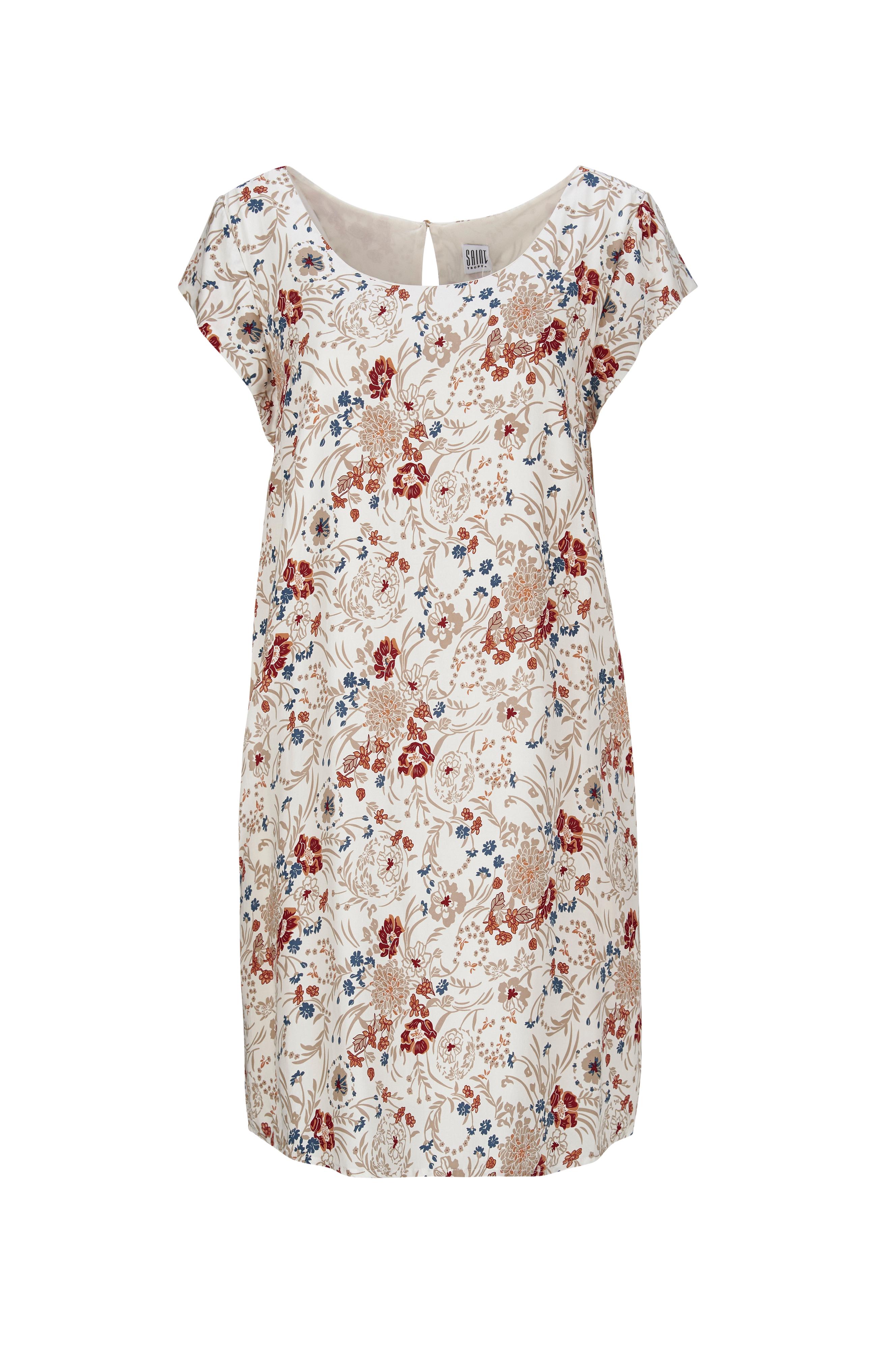 saint tropez blomstret kjole