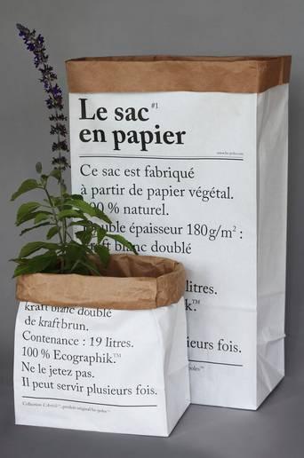 Le petit sac en papier, valkoinen