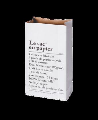 Le sac en papier, valkoinen