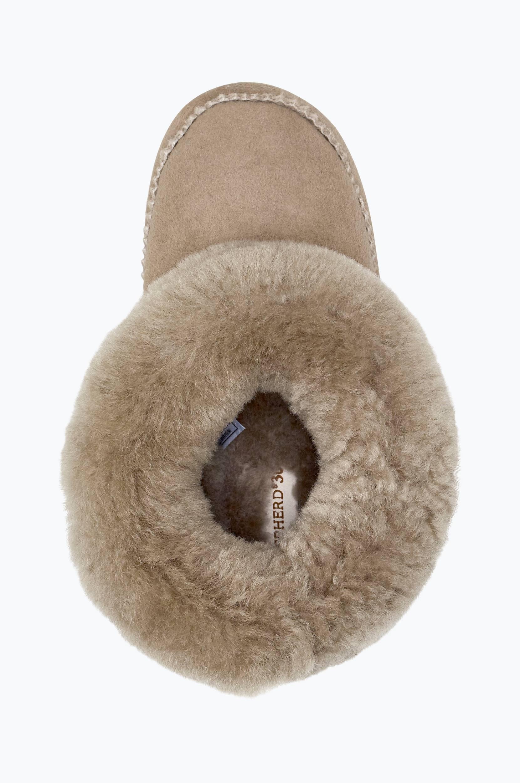 Piteå-lampaannahkatohvelit