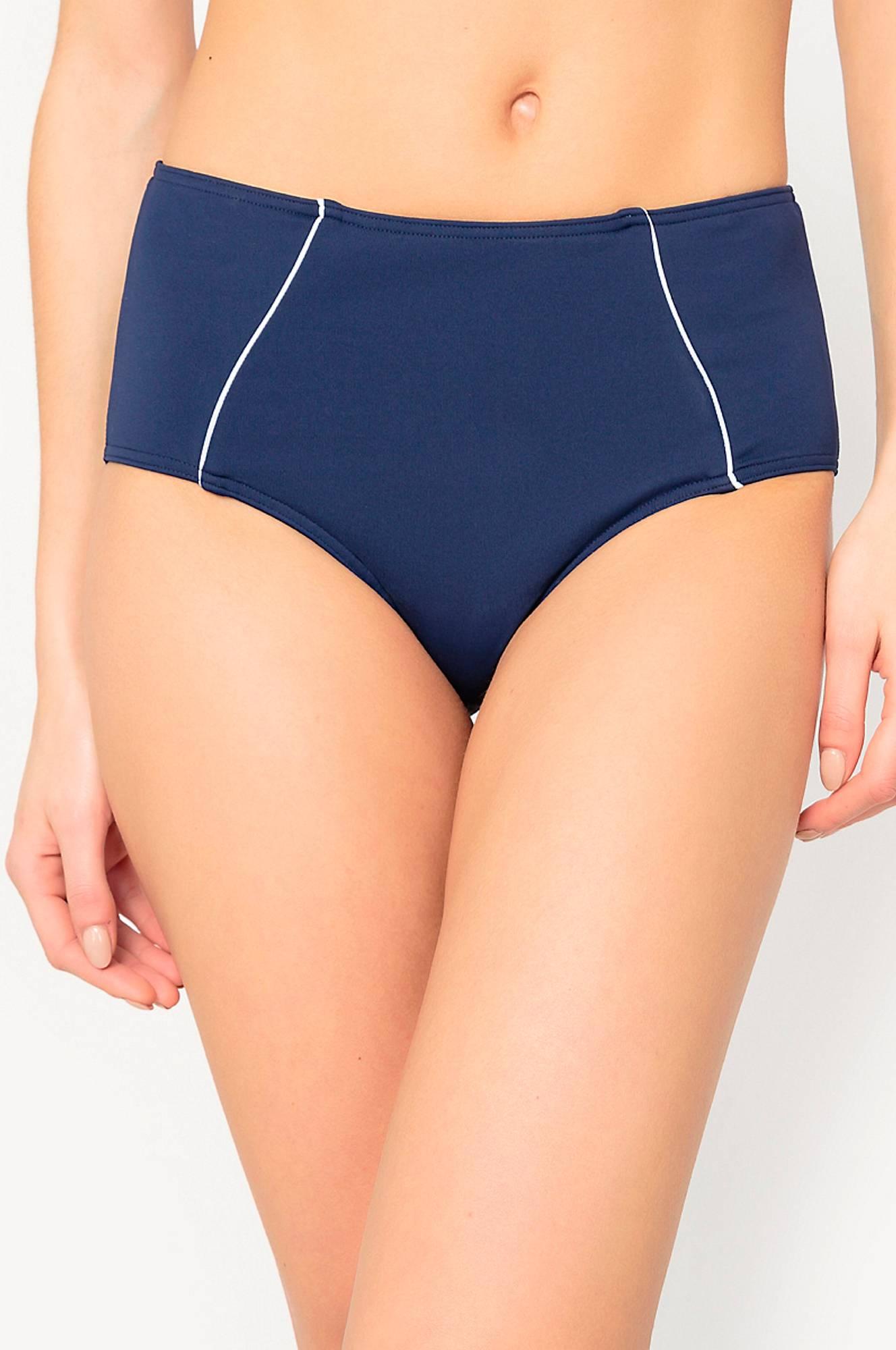 Kaksiväriset, muotoilevat bikinihousut