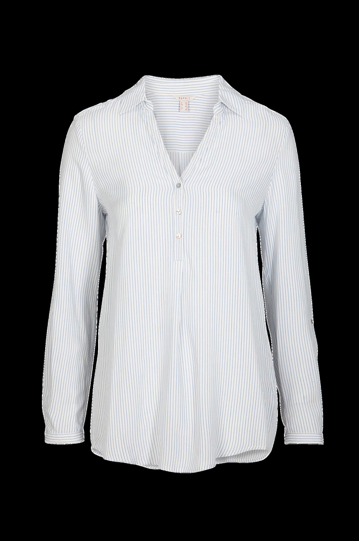 Bluse, stribet Esprit Skjorter & bluser til Kvinder i Offwhite
