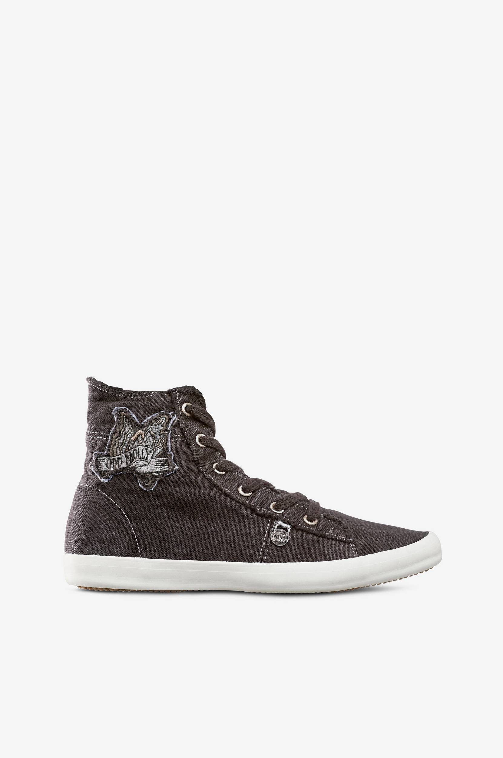 Sneakers Butterfly High Odd Molly Sneakers til Kvinder i Sort