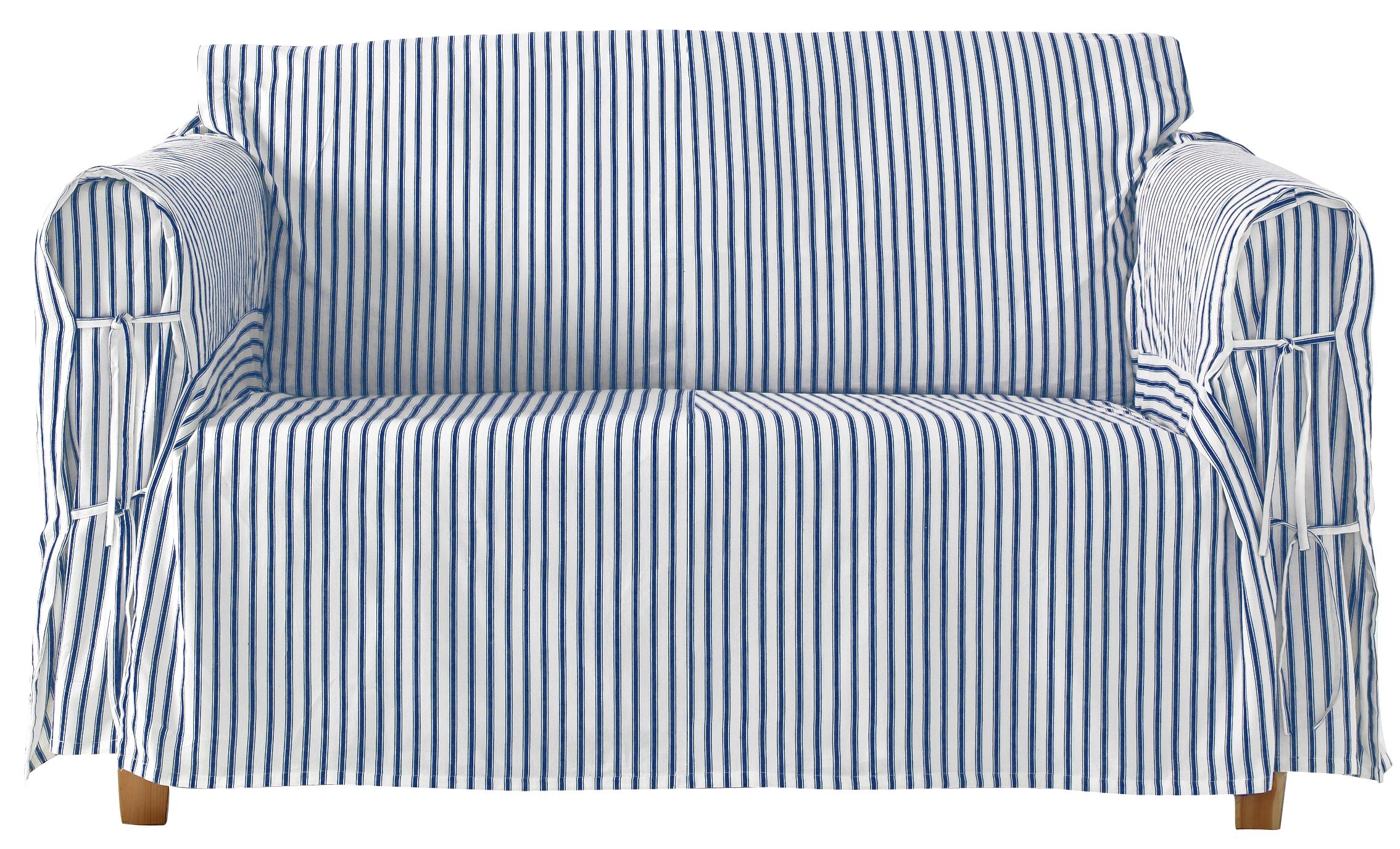221076118b6 Berømte Ellos Home Overtræk Kobbe til 2-pers. sofa - Blå - Bolig WG68