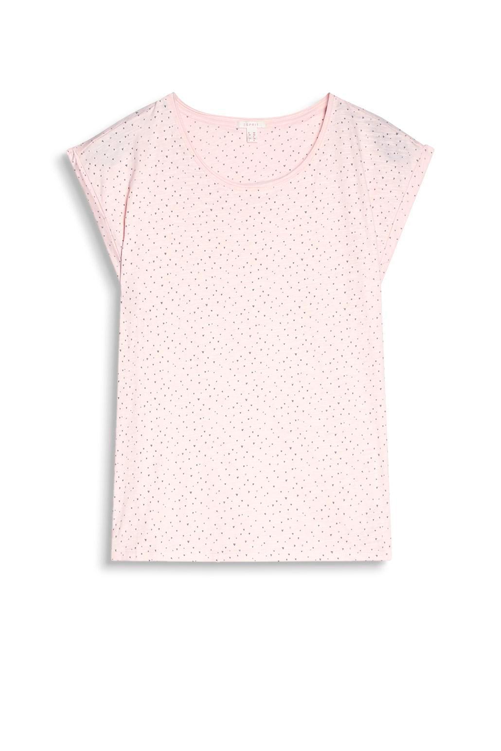Top med print Esprit Toppe & tank-toppe til Kvinder i Lys rosa
