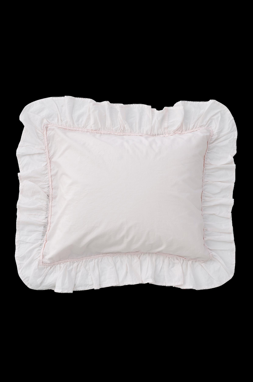 Pudebetræk Chantal af vasket bomuldspercale Ellos Sengetøj til Boligen i Lys rosa