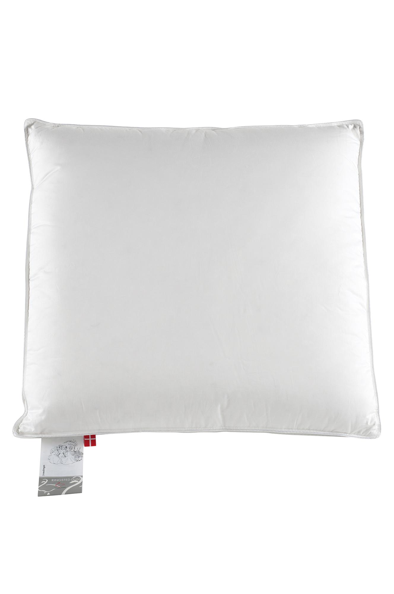 Ylellinen untuvatyyny, matala 50x60 cm