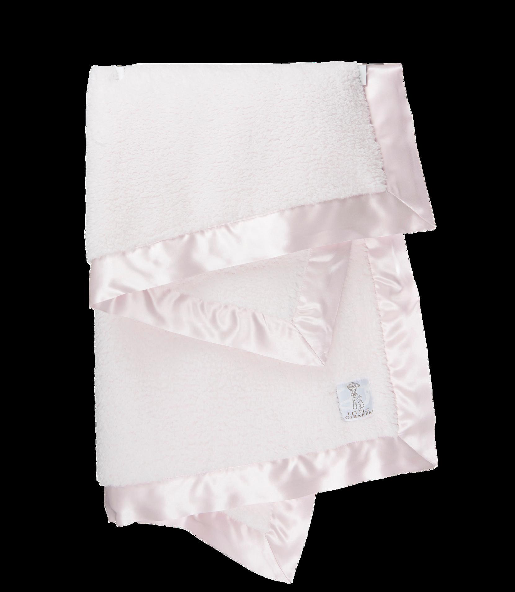 Bella-vauvanpeitto lahjapakkauksessa, roosa