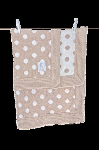 Dolce Dot -vauvanpeitto lahjapakkauksessa, beige