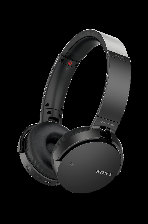 BT-Headset MDR-XB650BT Musta