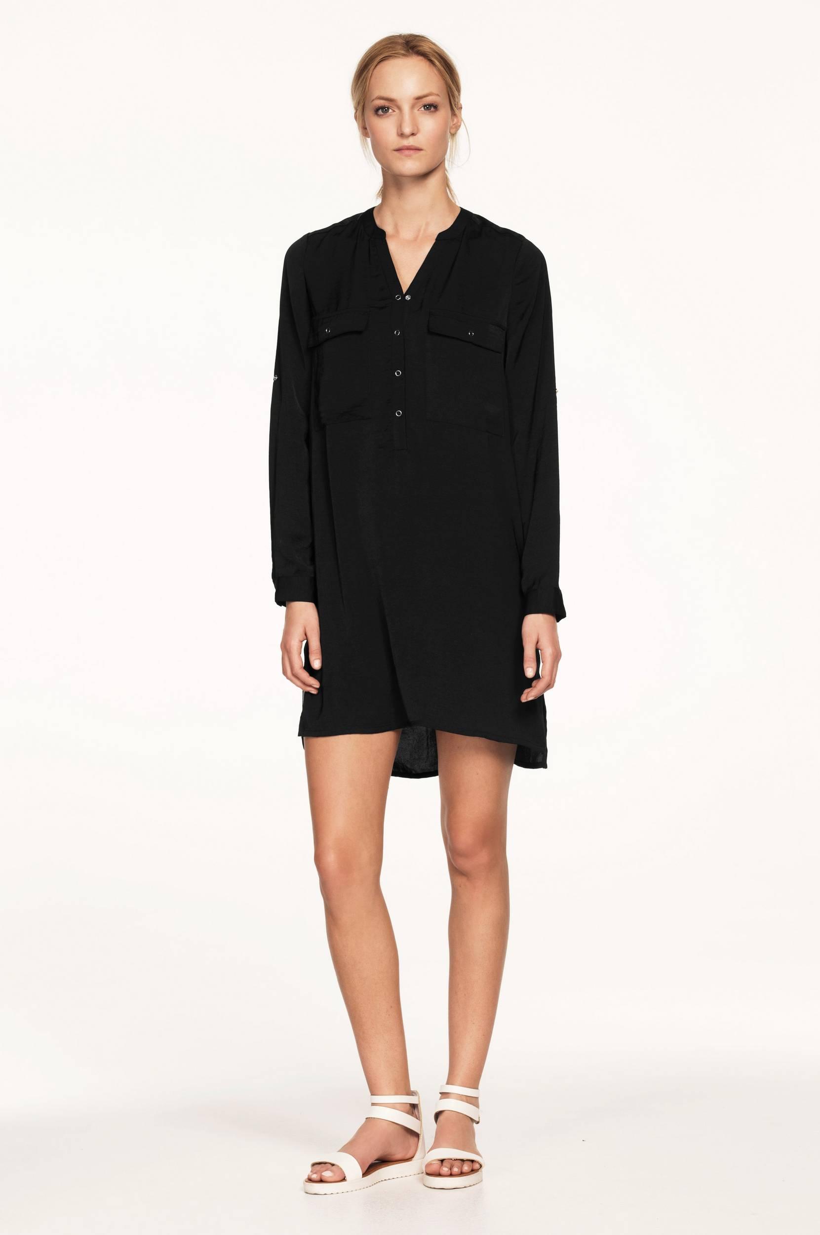 Bluse i lang model Ellos Skjorter & bluser til Kvinder i Sort