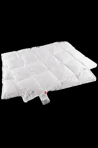 Ylellinen untuvapeitto kapeaan sänkyyn, viileä, 150x210 cm