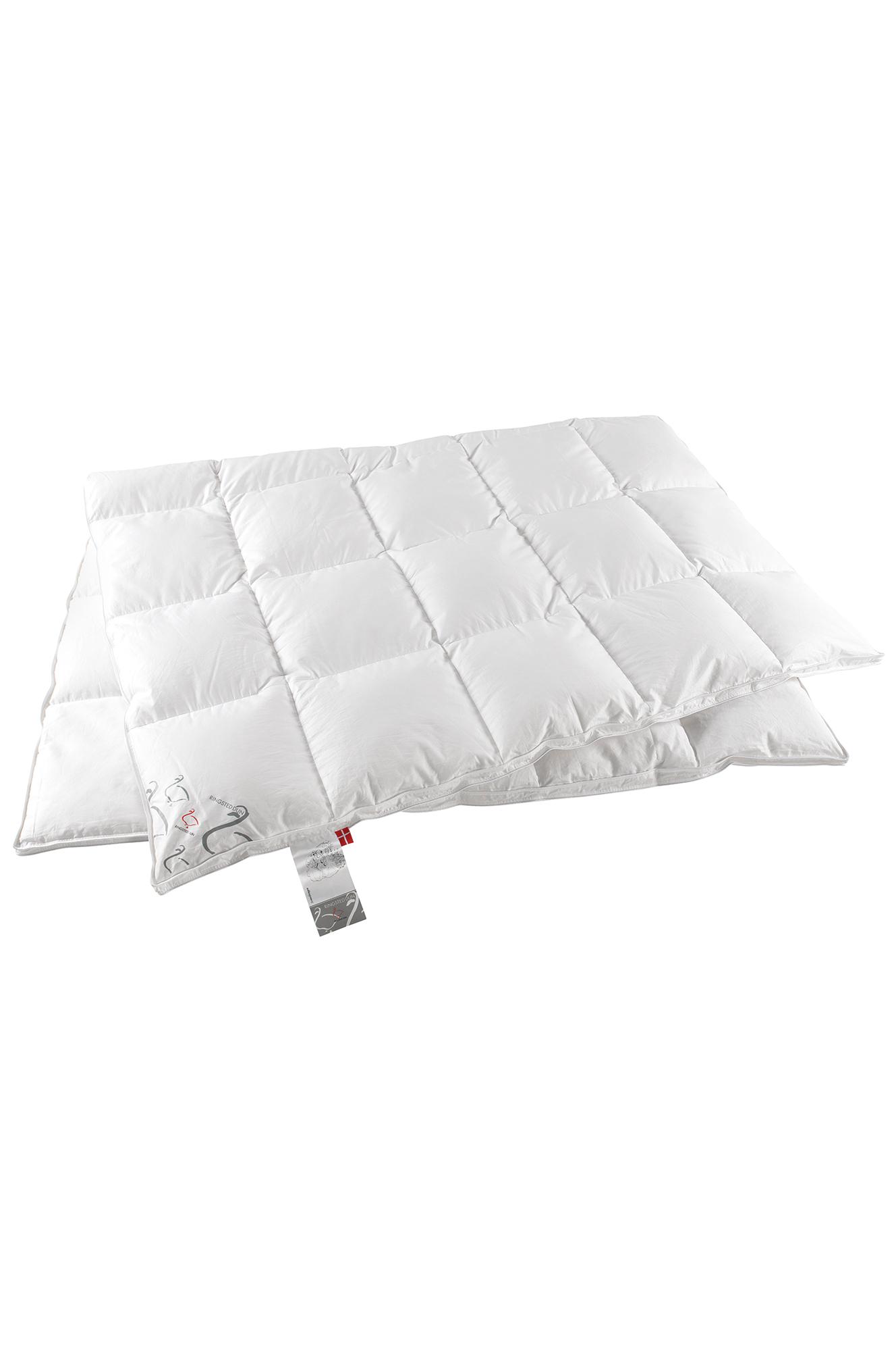 Ylellinen untuvapeitto kapeaan sänkyyn, lämmin, 150x210 cm