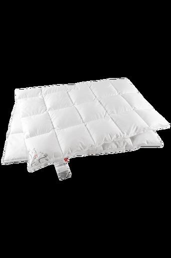Ylellinen untuvapeitto parisänkyyn, lämmin, 220x220 cm