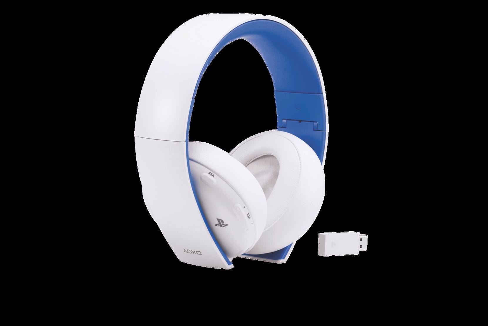Playstation 4 Wirless Headset O2 Valkoinen