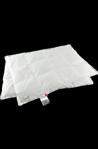Untuvapeitto kapeaan sänkyyn, viileä, 150x210 cm