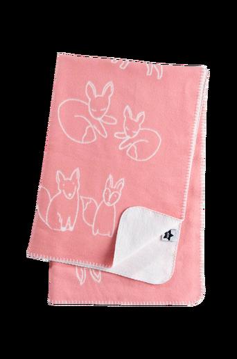 Edvin-torkkupeitto, roosa/valkoinen