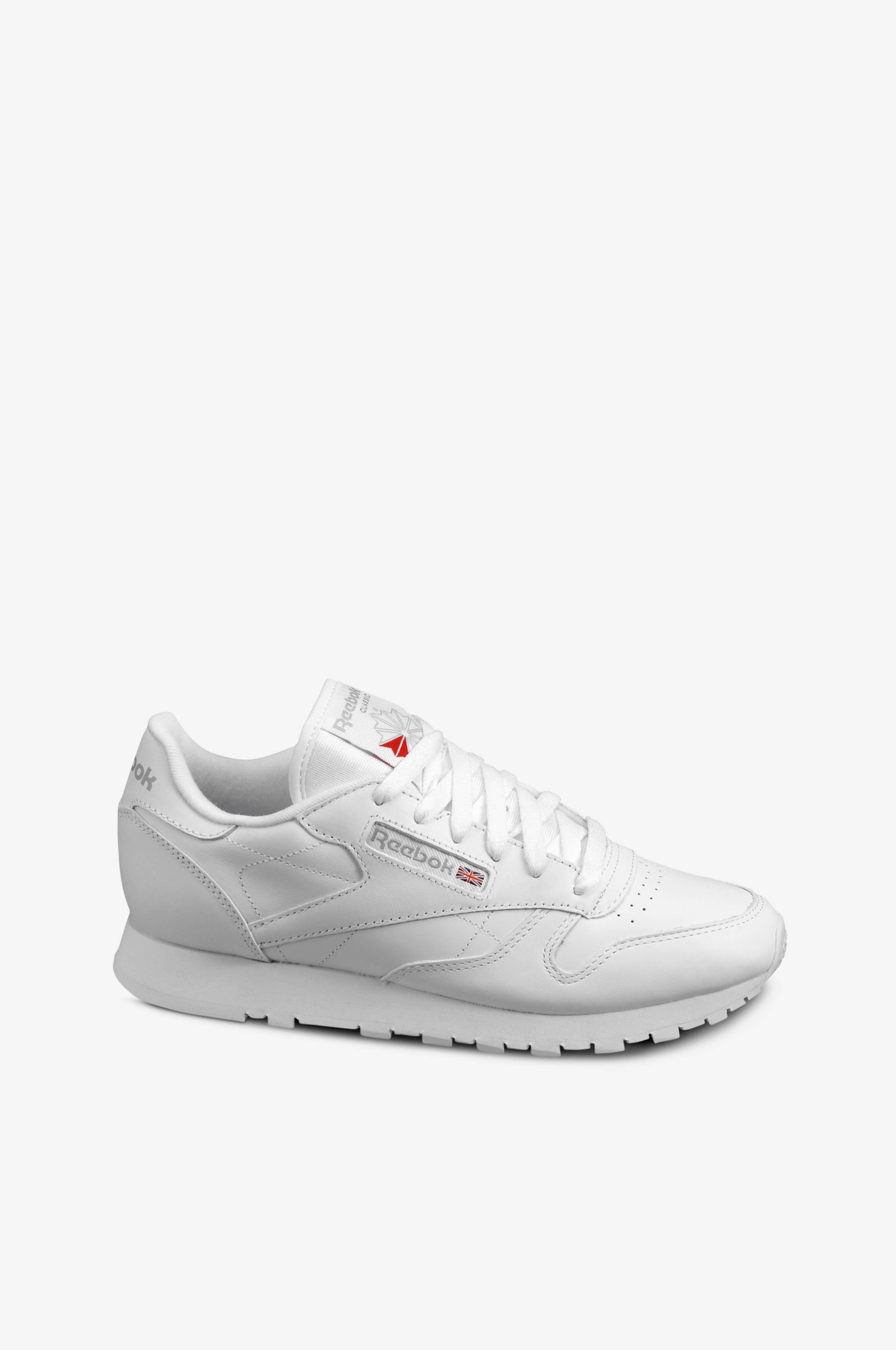 Hvit av no Reebok LTHR skinn CL Dame Sneakers Classic Ellos IxqqCw1gY
