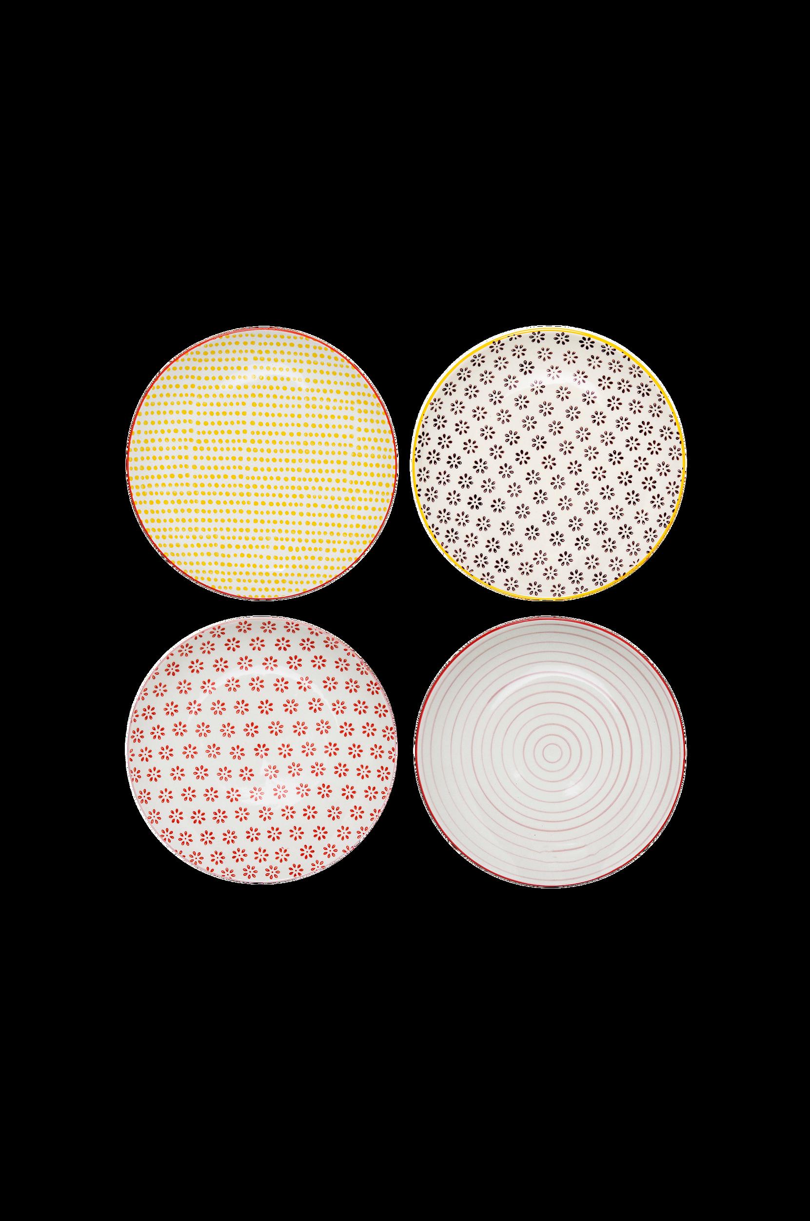 Susie-lautaset, 4/pakk., halkaisija 20 cm