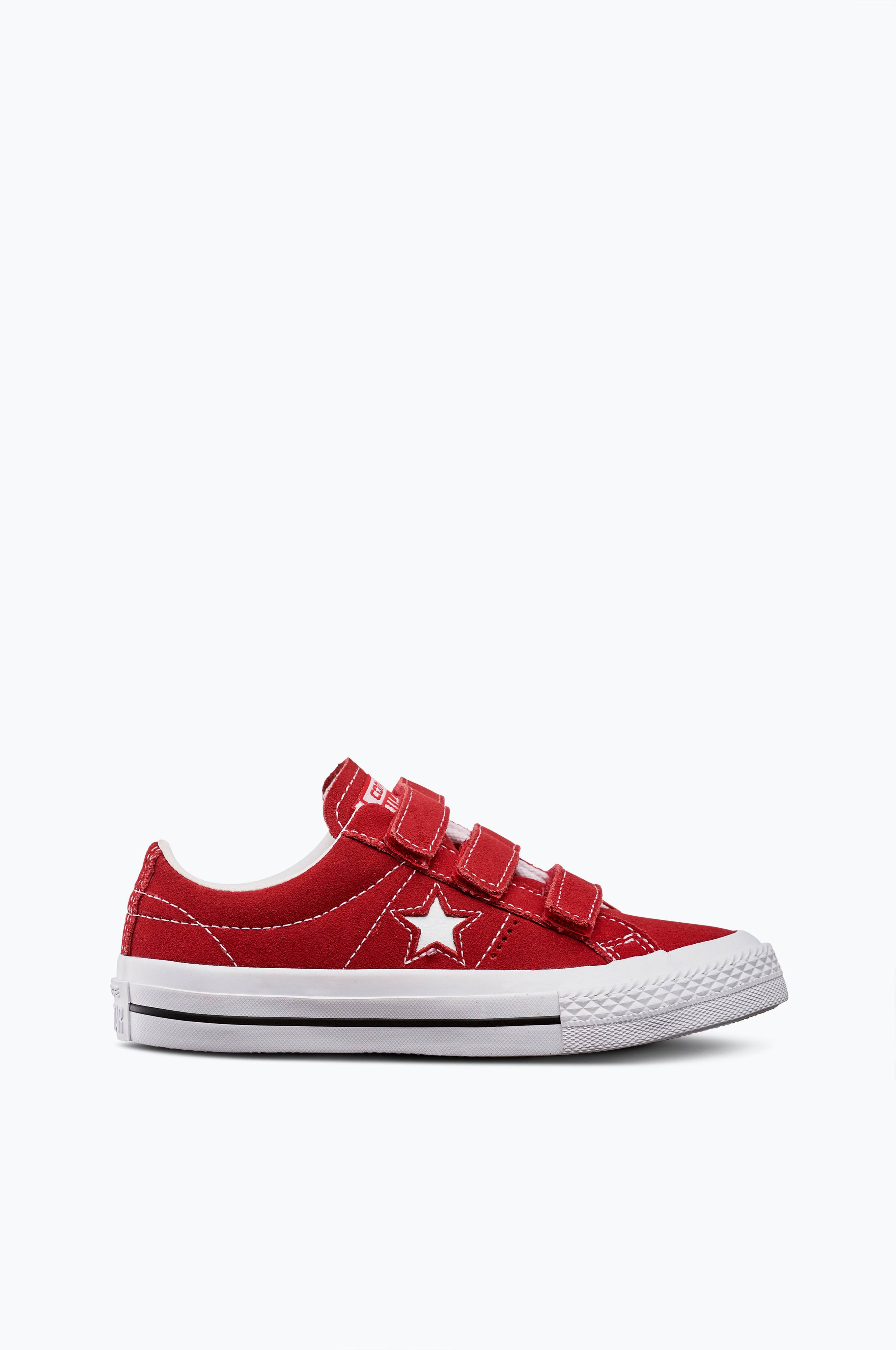 Converse Sneakers One Star 3v i mocka - Röd - Barn - Ellos.se 3ebd077171288