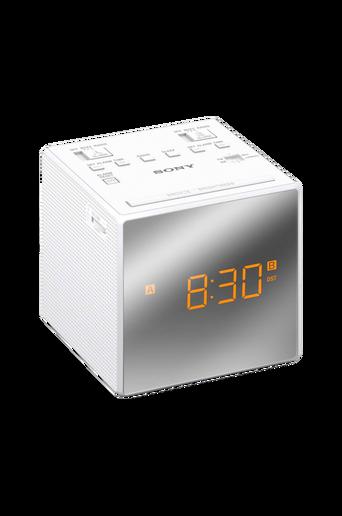 Kelloradio ICFC1TW, valkoinen