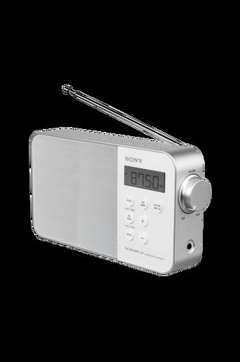 Kannettava digitaalinen kelloradio ICFM780SLW, valkoinen
