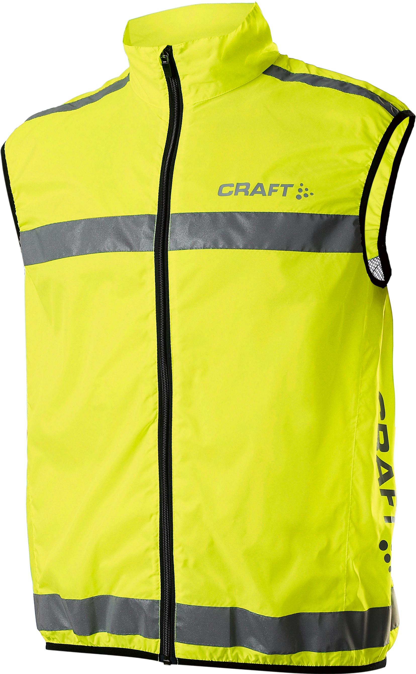 Visibility Vest Craft Overtøj til Mænd i Neongul