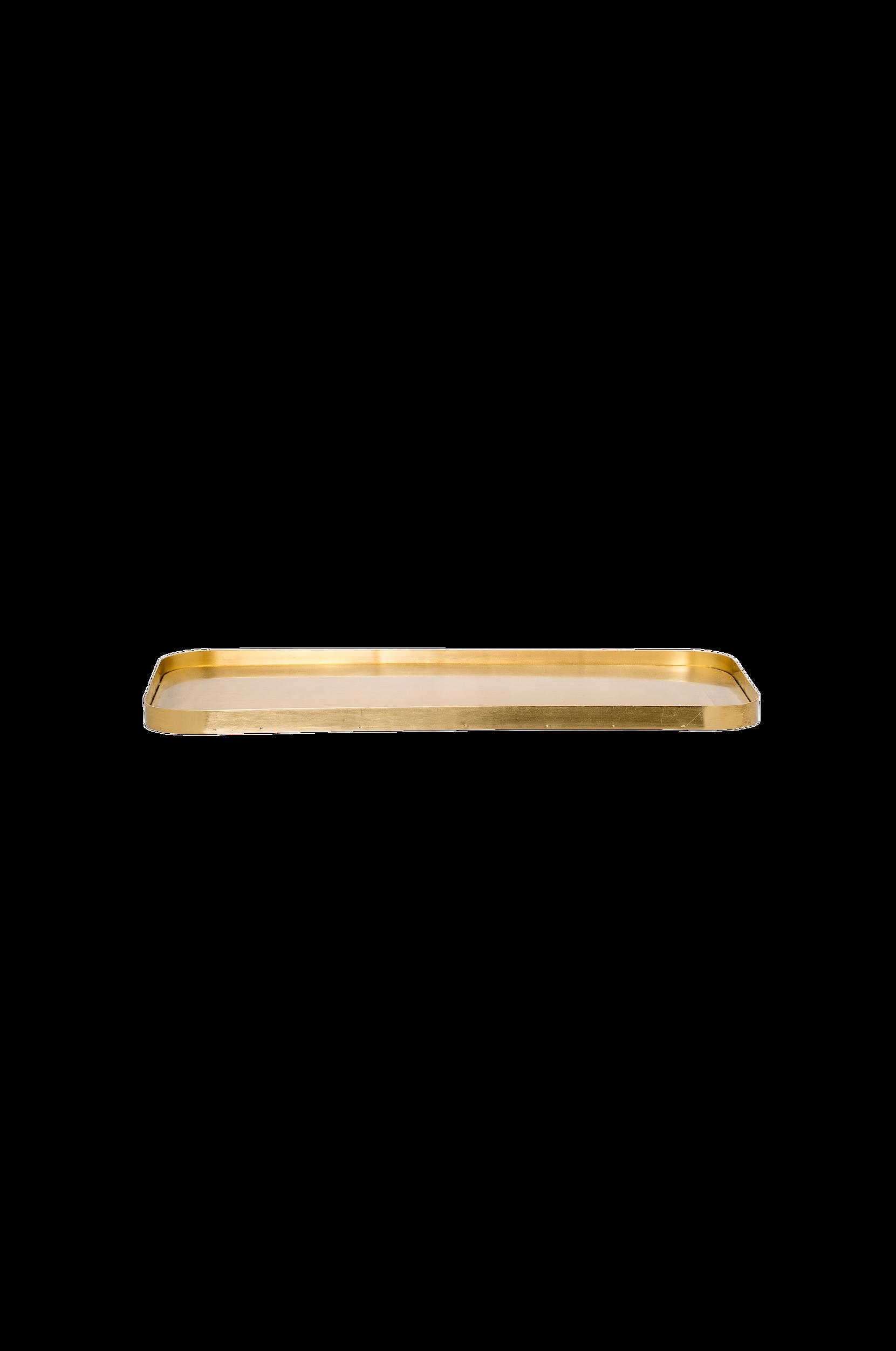Brass-tarjotin 26x50 cm